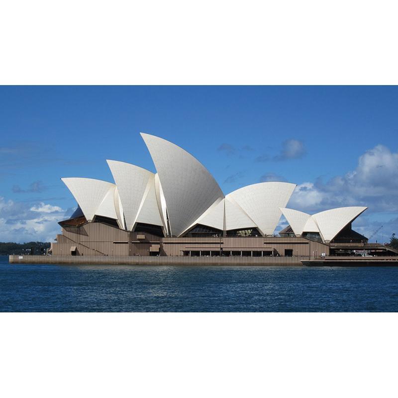 Großhandel Sydney Opera House Diy Voller Bohrer Diamant Malerei ...