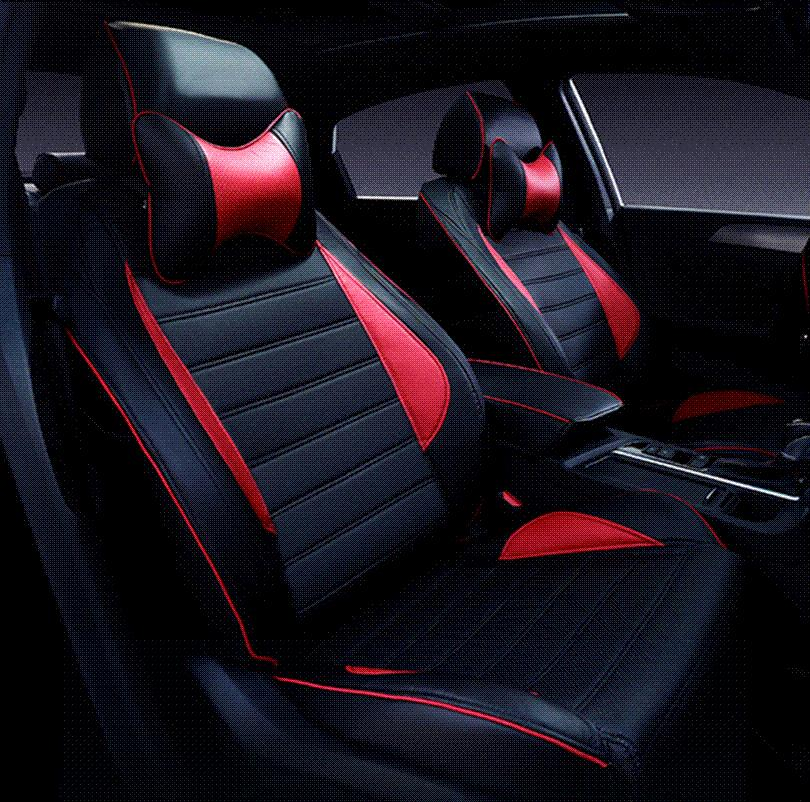 Special Leather Car Seat Covers For Toyota RAV4 PRADO Highlander COROLLA Camry Prius Reiz CROWN Yaris Accessories Styling Protective