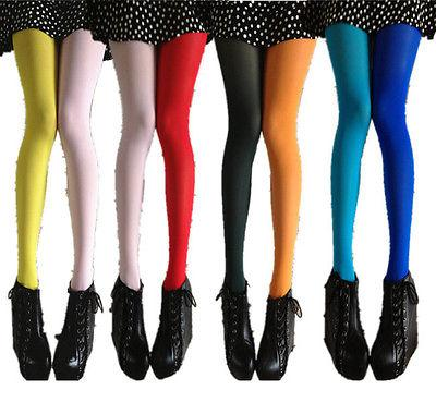 8a1f118726c3 Women Patchwork Footed Tights Stretchy Pantyhose Stockings Elastic KLL Two  Color Solid Stocking Pantyhose Stockings Footed Tights Pantyhose Tights  Stockings ...