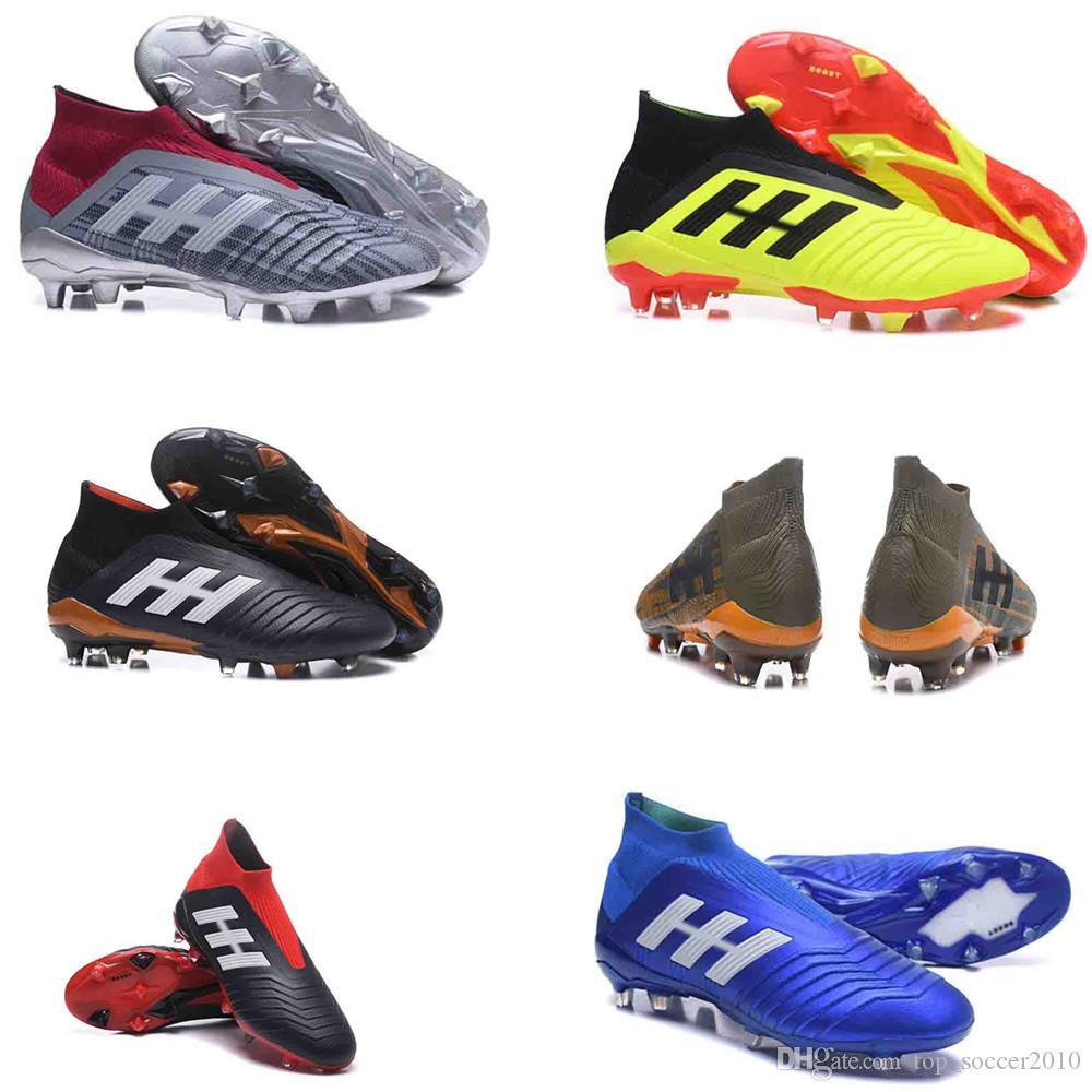 2018 V SX Neymar soccer Shoes Predator 18+x Pogba FG Accelerator DB Kids Men Mercurial Superfly FG football Cleats Real Madrid buy cheap looking for Qkei6C3Ng