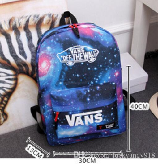 a7d842dcf1 NEW School VANS Bags Schoolbag For Teenage Girls Boys Fashion Canvas Travel  Backpack Laptops School Student Osprey Backpacks Book Bags From  Luckyandy918