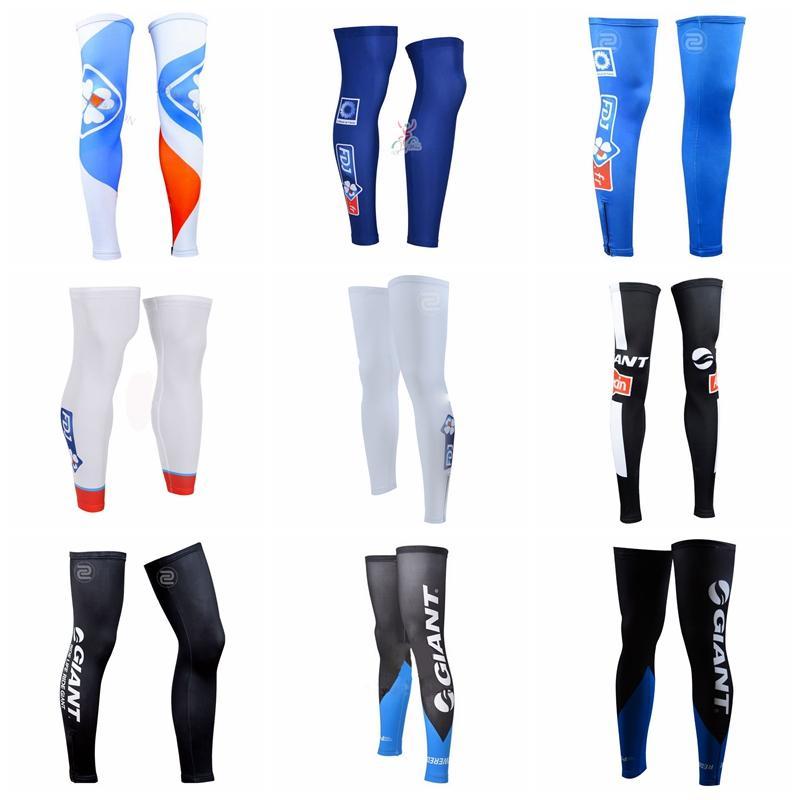 0cd7a1a80f917b FDJ GIANT Team Cycling Leg Warmers Bicycle Cycling Leg Sports ...