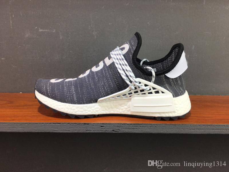 outlet best seller sale ebay NMD Human Race Pharrell Williams Hu NMD Shoes Sports Running Shoes discount Athletic mens Outdoor Boost Training Sneaker Size 36-45 new styles sale online best store to get sale online D3UFoQ