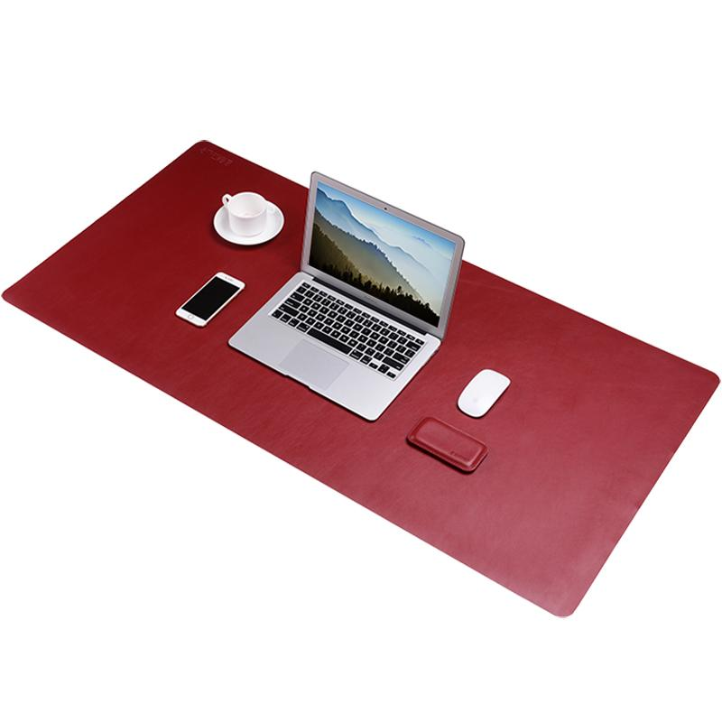 Bestjing Red Ultra Large Size Gaming Mouse Pad For Pc Laptop Computer Double Sided Design Notebook Desk Mat For Office Home