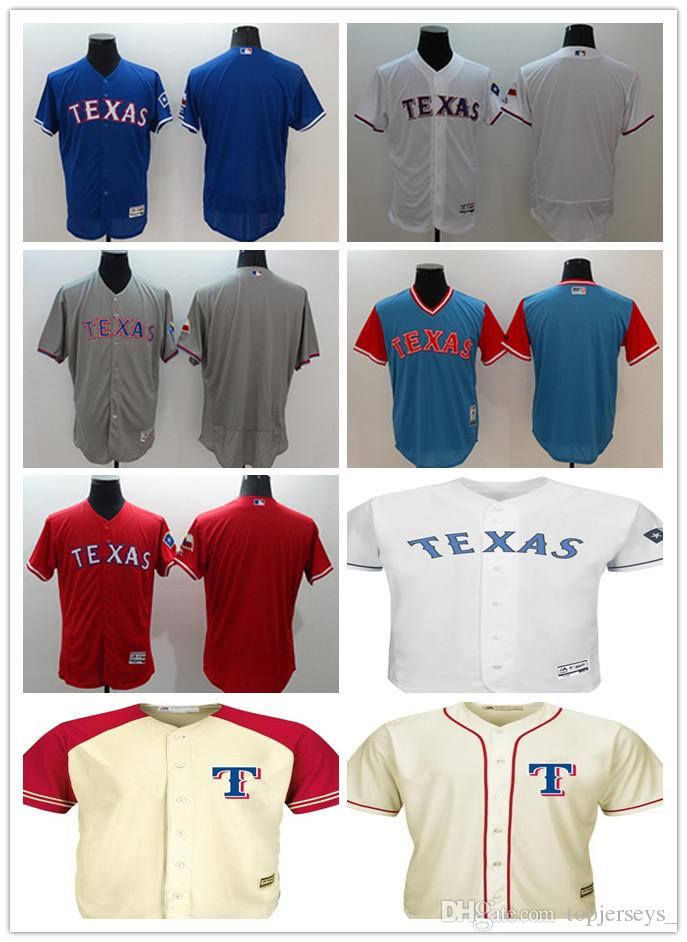 3730fdcbf Custom Men Women Youth Texas Rangers Jersey Personalized  00 Any ...