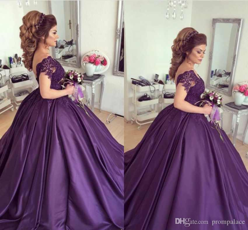 Elegant Scoop Neck Quinceanera Dresses With Capped Sleeves Appliques