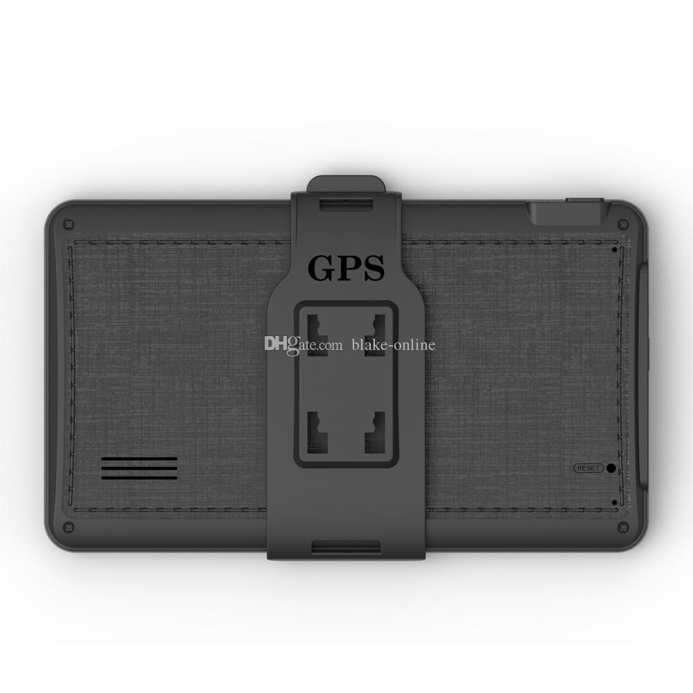 HD de 7 polegadas Car GPS Navigator SAT NAV Sistema de navegação FM WinCE 6.0 OS Mais novos Mapas de 8GB para Mercedes Audi BMW