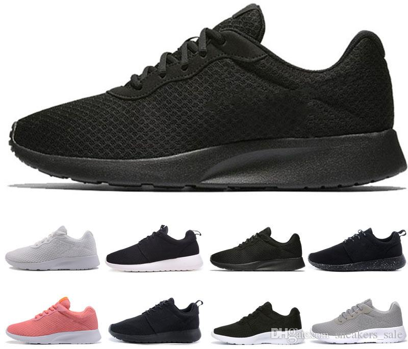 best service 2c461 3fbd5 2019 Designer Tanjun Men Women Running Shoes London 3.0 1.0 Triple Black  White Blue Red Olympic Mens Trainers Sports Shoes Sneakers US 5.5 11 From  ...