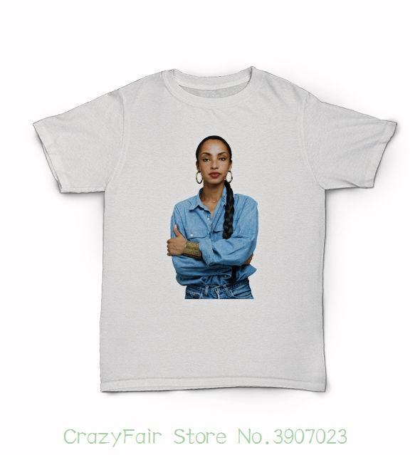 e83162f56b2 Sade T Shirt Lovers Rock Smooth Operator No Ordinary Love Deluxe Sweetest  Taboo Casual Fitness Men T Shirts