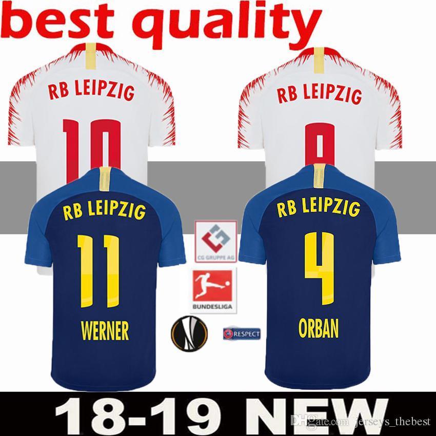 Großhandel Rb Leipzig Fußball Trikots Werner Fußball Camiseta 2018
