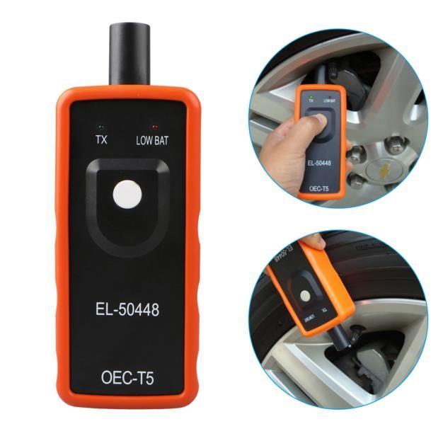 EL-50448 TPMS Sıfırlama Aracı Relearn aracı GM araç Chevrolet için Oto Lastik Basınç Sensörü