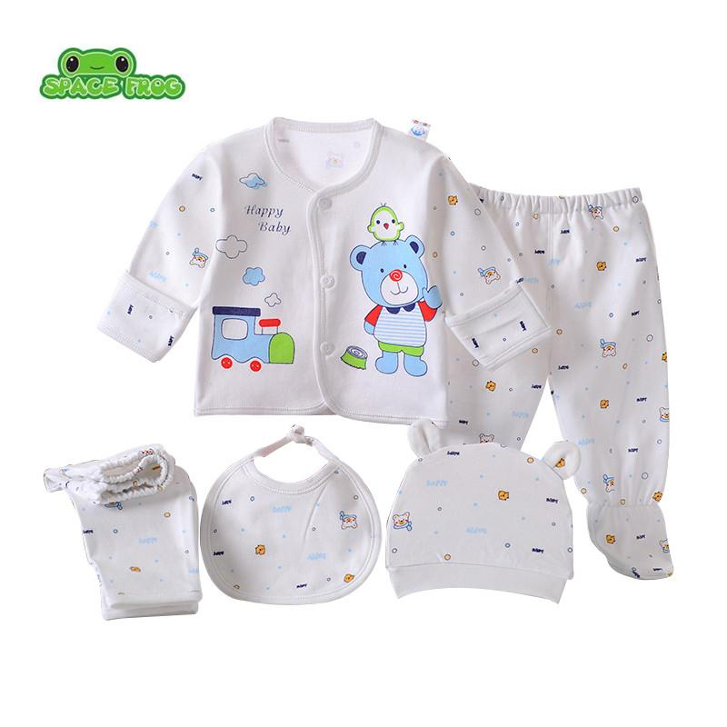 fbe06c283b08 2019 Newborn Baby Set 0 3M Clothing Set Boy Girl Baby Clothes 100 ...
