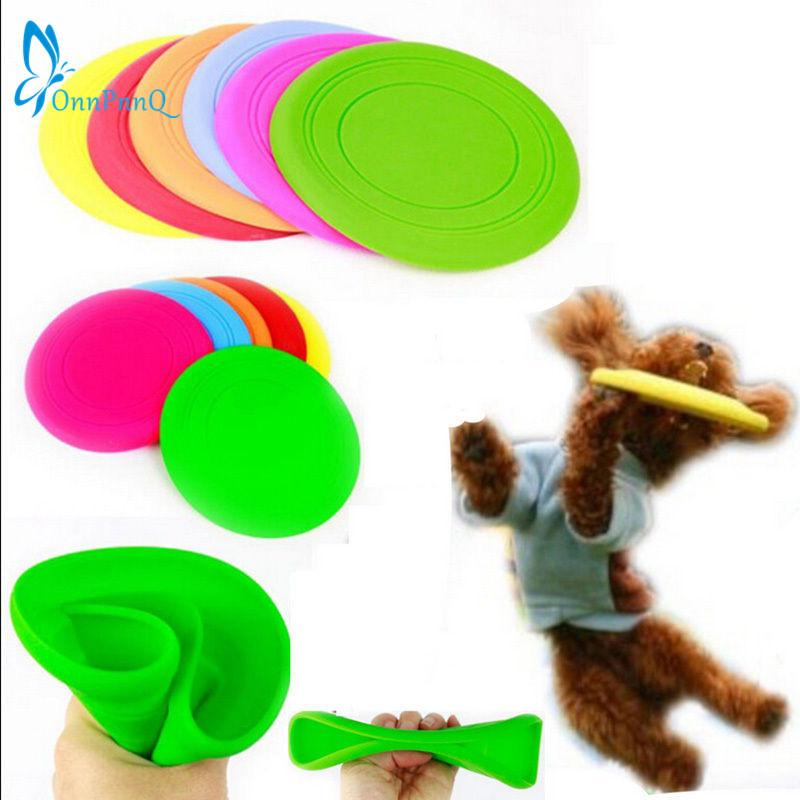 OnnPnnQ Fantastic Pet Dog Flying Disc Tooth Resistant Training Jouet Jouez Frisbee Tide chien jouets mâcher