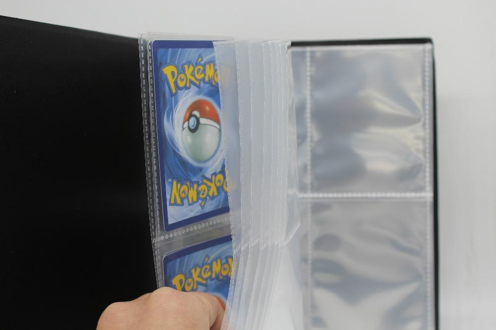 160 Cards Capacity Cards Holder Binders Albums For CCG MTG Magic Yugioh Board Game Cards book Sleeve Holder