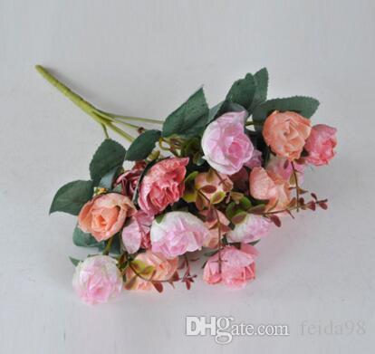 Моделирование цветок, европейский стиль осень издание Алмазная роза, цветок украшения цветок фотография Фото реквизит L116
