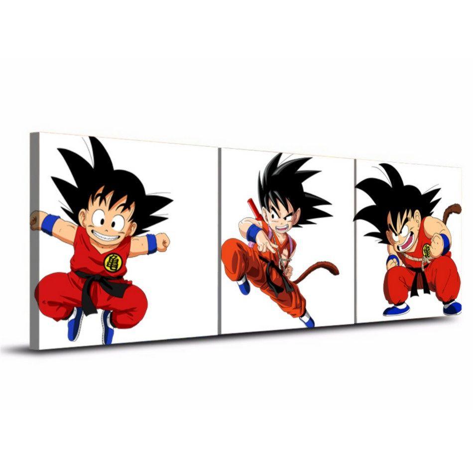 2018 Dragon Ball Film Goku,Canvas Prints Wall Art Oil Painting Home ...