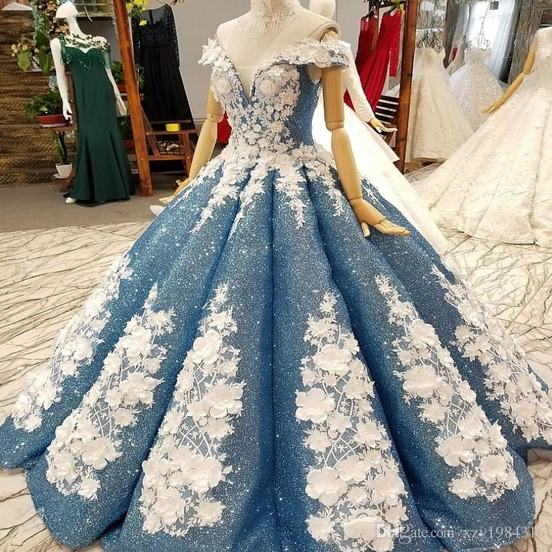 Fascinating Fabulous Dubai Wedding Gowns Sparkly Full