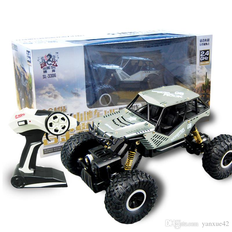 New children's alloy four-wheel-drive climbing remote control off-road model electric high-speed mountain sports car toys