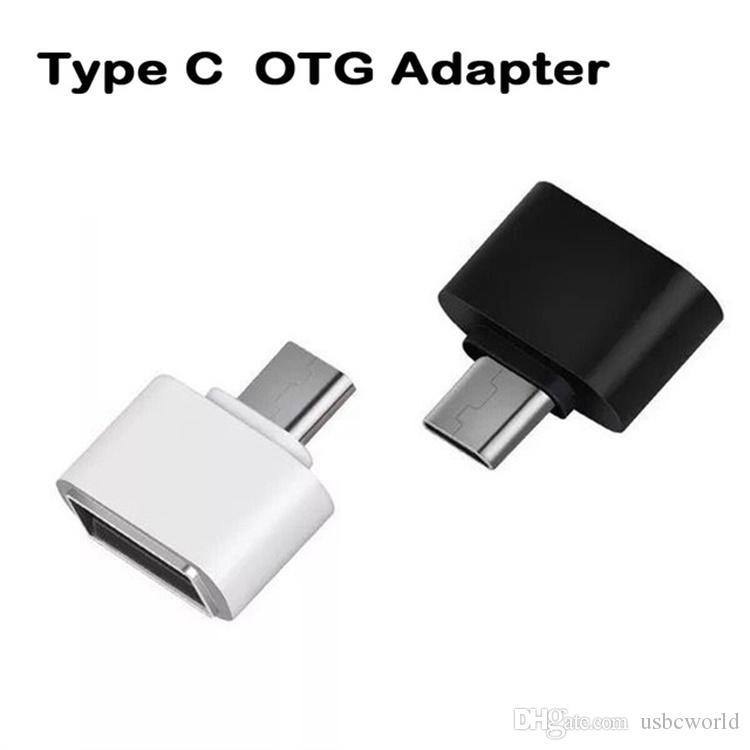Type-C OTG USB 3.1 To USB2.0 Type-A Adapter Connector For Samsung Huawei Phone High Speed Certified Cell Phone Accessories