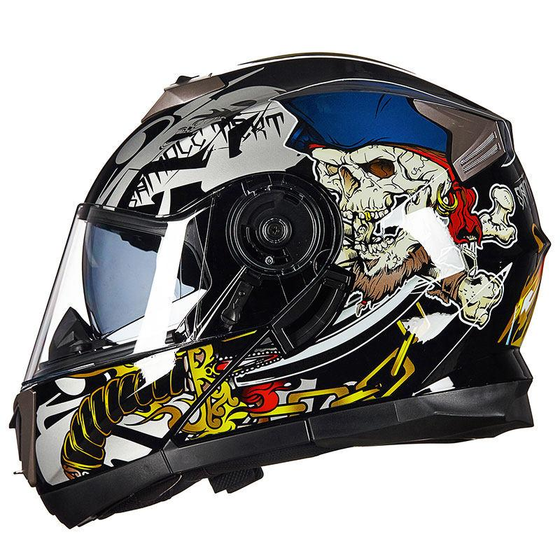 GXT Full Face Motorcycle Helmet Men High Quality Warm Moto Bike Scooter Helmet Winter Summer Women Motocross Motorbike