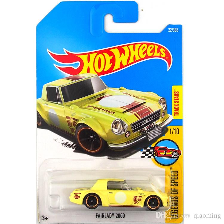 2019 Hot Wheels 2000 Expensive Lady Yellow Car Model Toy 22 From