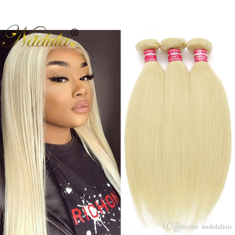 Nadula Malaysian Straight Hair Bundle Remy Human Hair Extensions