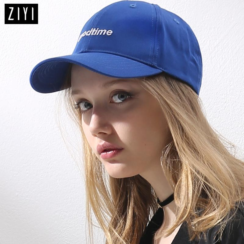 3831e8a5dc6 Casual Blue Baseball Cap For Girl Snapback Hat Summer Adjustable Sport Caps  Men Couple Baseball Cap Women Hip Hop  507 Fitted Caps Black Baseball Cap  From ...
