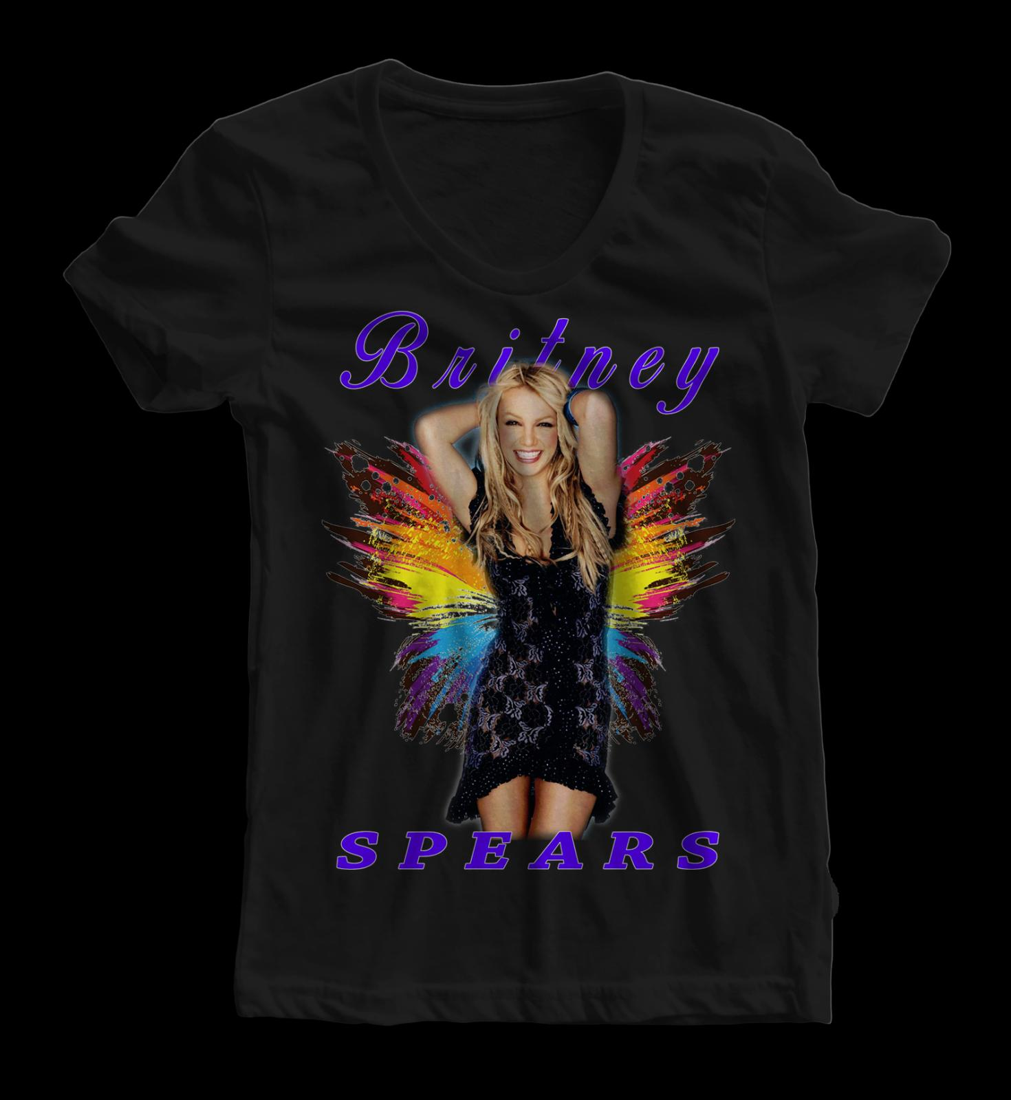 Britney Spears Tour Concert Women Shirt Graphic Tee Custom Printing Funny  Unisex Casual Tee Top Buy T Shirt Designs Printing Tee Shirts From ... 93275a5d91