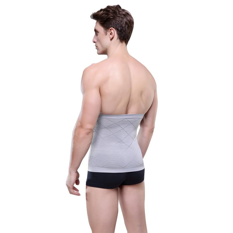 f4469aa5b7 2019 New Breathable Slimming Abdominal Belt Support Brace Waist Slimmer Body  Shaper Waist Support Hide Beer Belly From Hineinei
