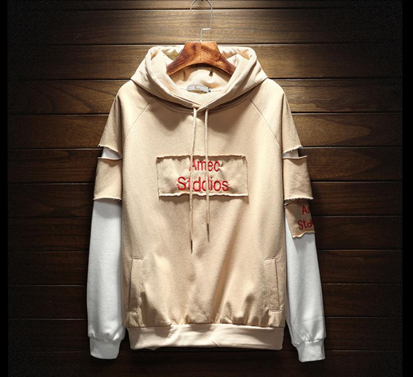 Neue Mode Hoodies Männer Sport Sweatshirt 4 Farbe Baumwollmischung Dick Designer Hoodie Pullover Langarm Streetwear Marke Hoodies