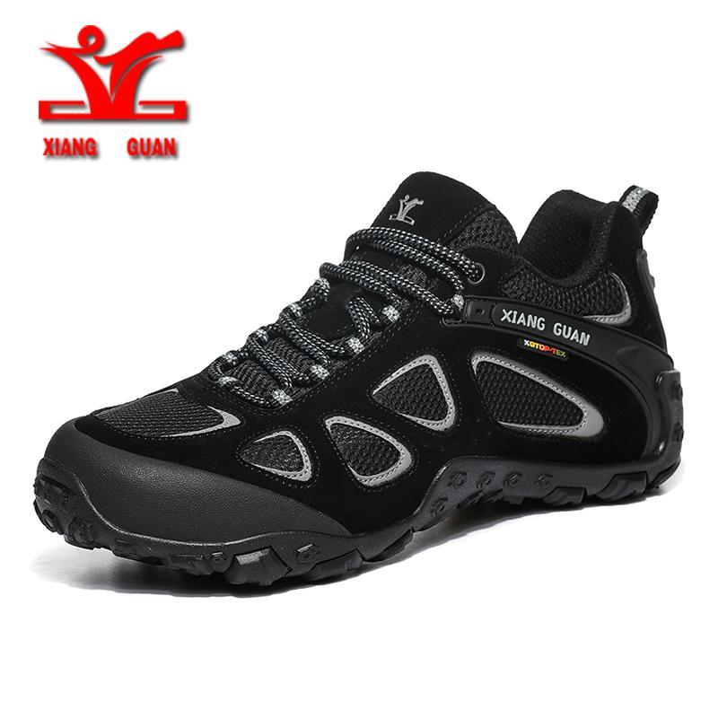 sale retailer b6cef 515ba XIANGGUAN Wanderschuhe Herren Outdoor Sneakers Schuhe Herren Winter  Sneakers wasserdicht Klettern Outdoor Trekking Jagd