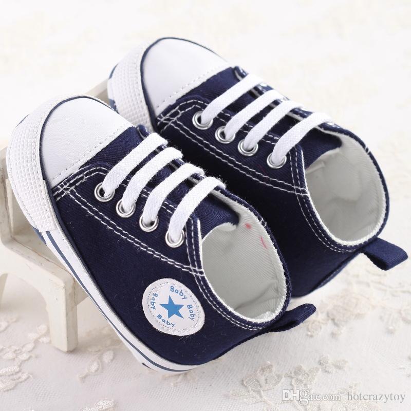 / 저렴 한 도매 패션 아이 베이비 스포츠 신발 소년 소녀 첫 워커 스 니 커 아기 유아 부드러운 바닥 워커 신발 패션 아기
