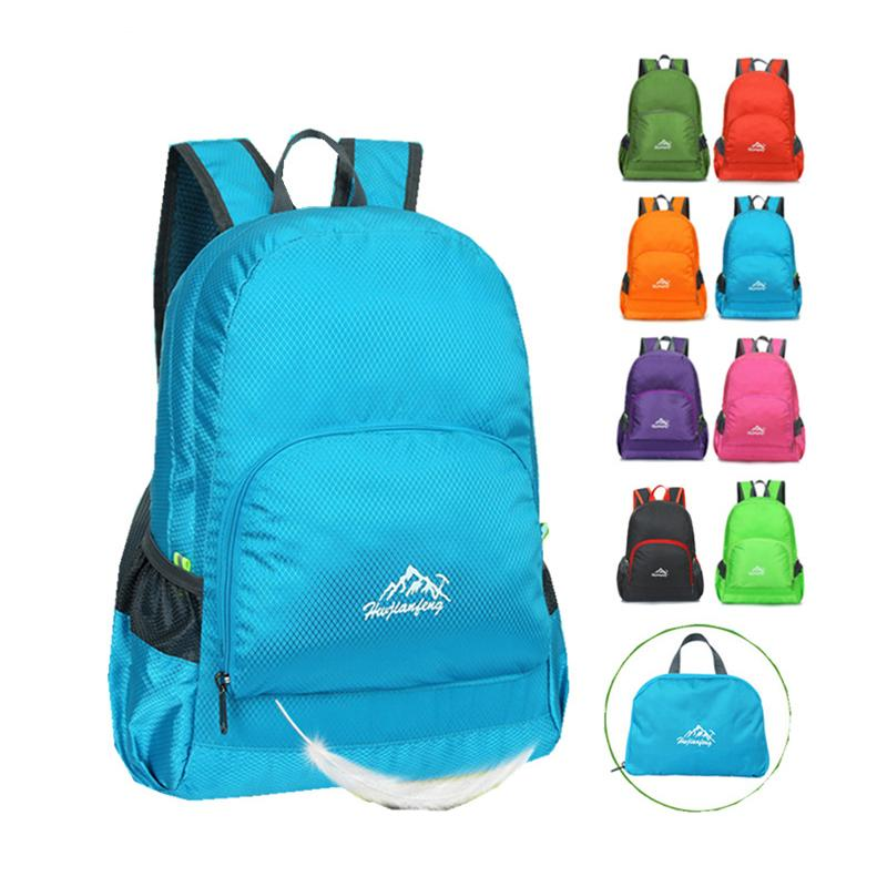 846a131caa2 Ultralight Waterproof Nylon Travel Folding Backpack Portable Lightweight  Packing Bag Fashion Bag Unisex Travel Backpacks Small Backpack From  Shoesbuddy, ...