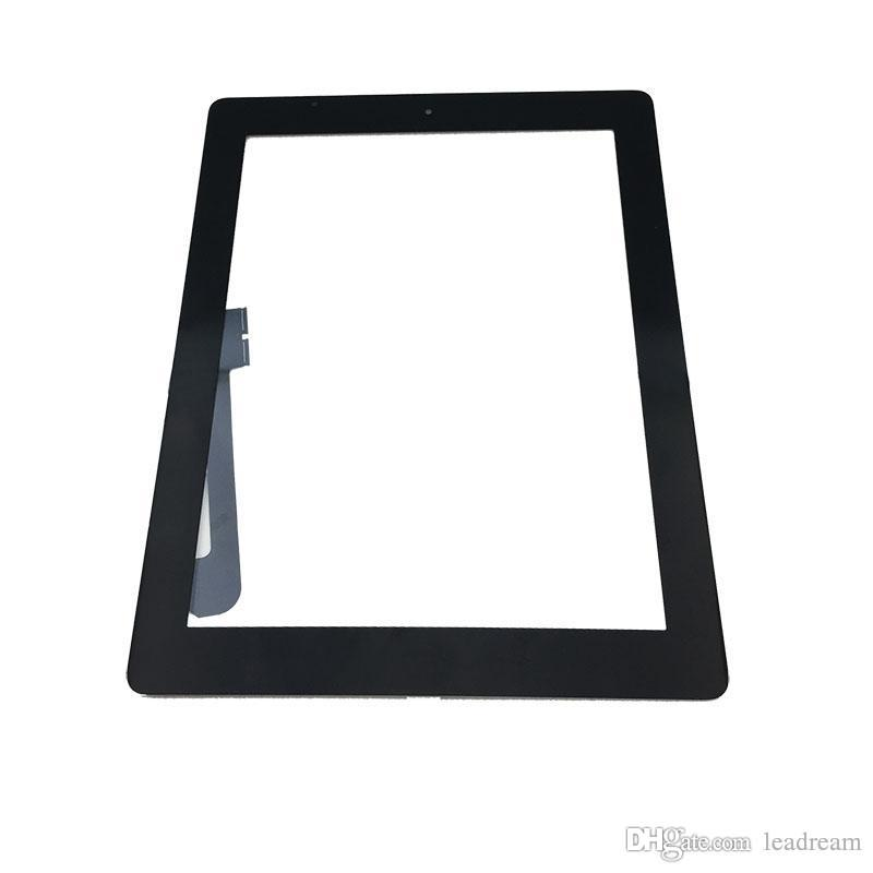 For iPad Mini 1 2 3 for iPad 2 3 4 for iPad Air Touch Screen Digitizer Assembly Replacements With Home Button Black Color