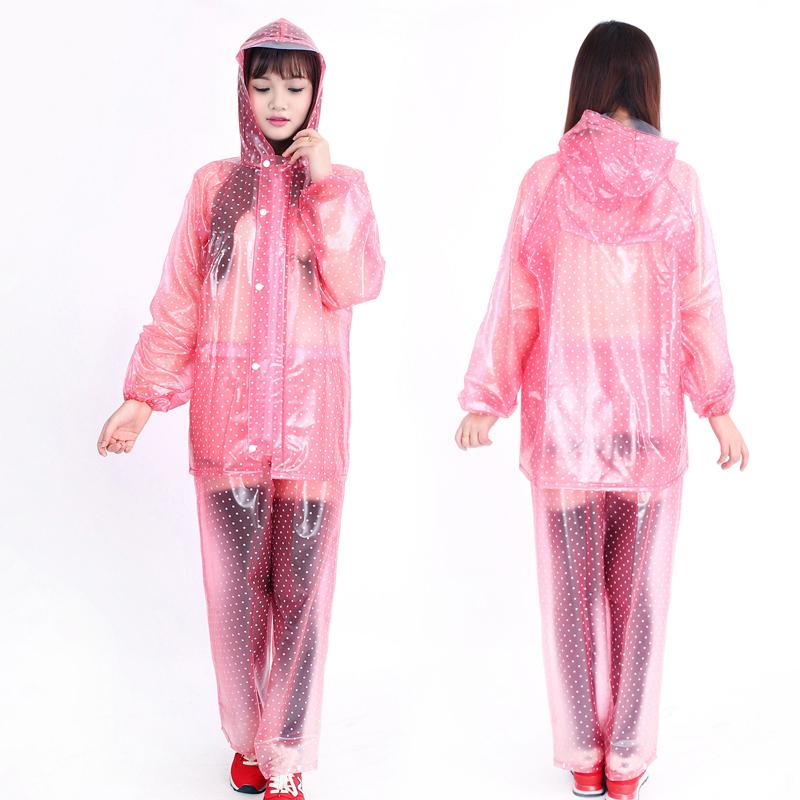 741c29b4f Poncho Rain Coat Transparent Raincoat Women Outdoor Rainwear For  Chubasquero Wiche Layer Waterproof Raincoat Breathable DDG4Z0