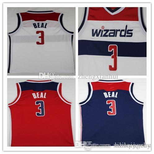 a38365142 ... aliexpress 2018 2018 new material 3 bradley beal jersey latest style  red white blue mens bradley