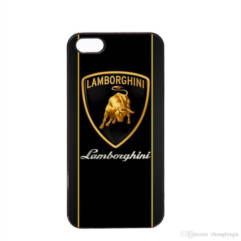 Classic Lamborghini Logo Phone Case For Iphone 5c 5s 6s 6plus 6splus