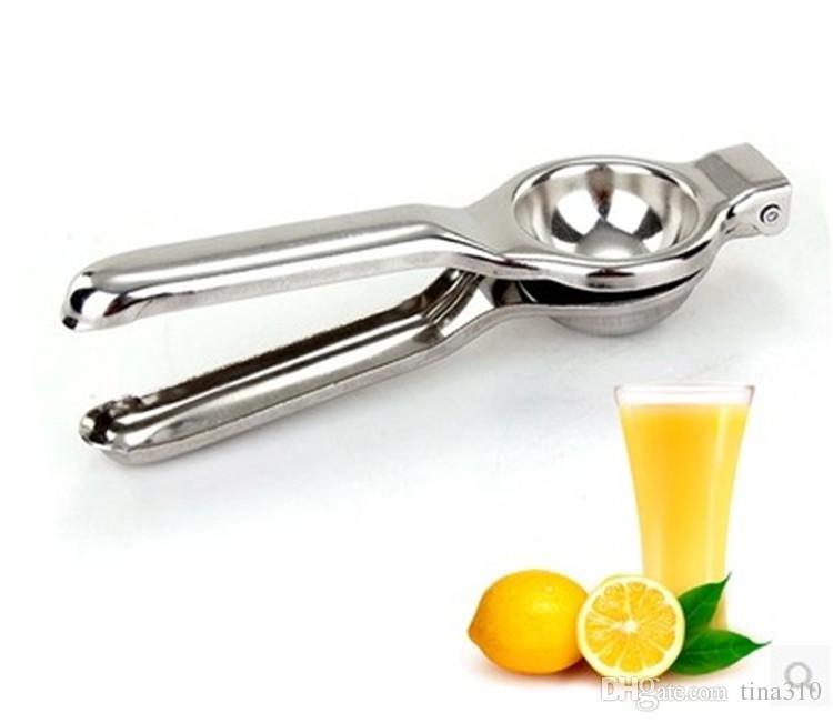 Cocina Fruta Inoxidable Exprimidor de Limón Naranja Fruta Cítrica Exprimidor de Mano Exprimidor Exprimidor de Bar Herramienta Juice Maker Otras Herramientas de Cocina T1I414 50 UNIDS