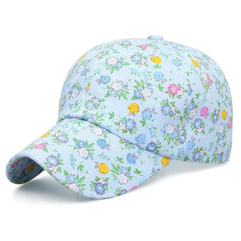 Rose Flower Women S Hat Caps Printed Floral Baseball Caps Fashion Hat For  Girls Lids Cap From Top7 a183c1bb932