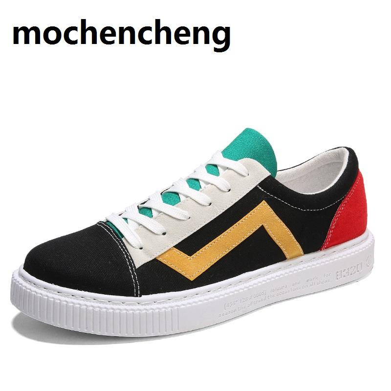 2018 European Trending Cool Men Leather Shoes Breathable Adults Casual Shoes Spring/autumn Sneakers Man Snake Pattern Gold Shoes Shoes