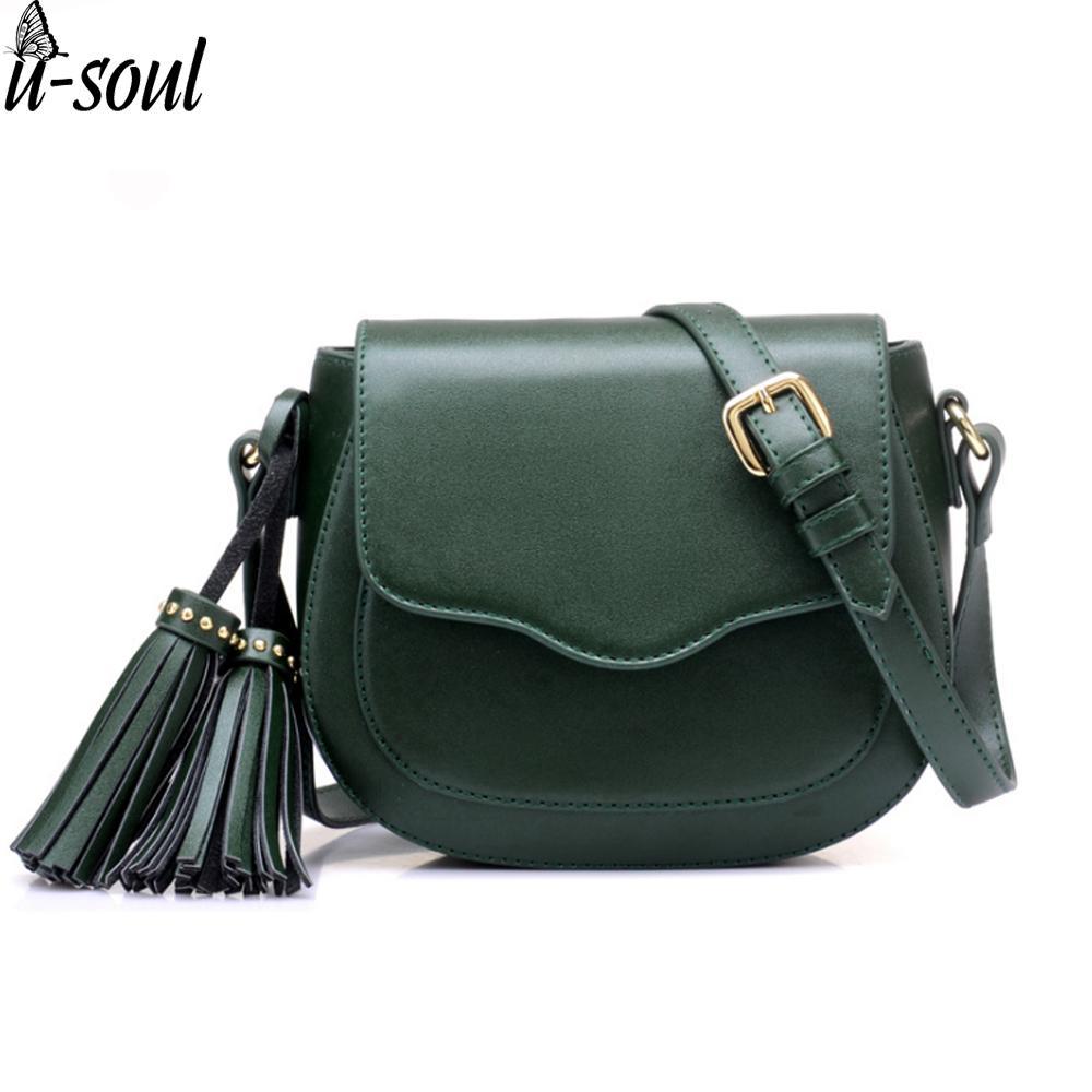 deafb5dd7c0 women bag female tassel mini shoulder bag handbag long belt lady messenger  casual pu leather cross body purse SC0459