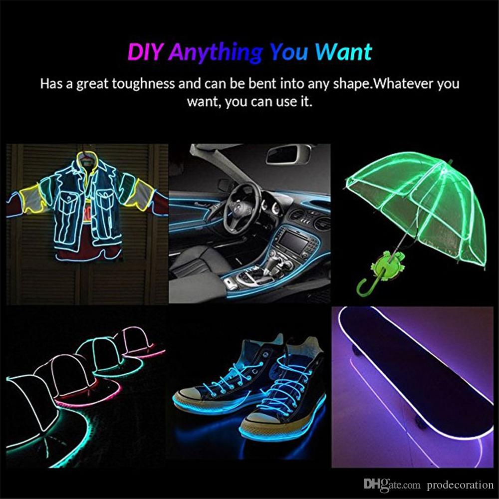 Creative diy el wire with manwomen mask neon led cable light dance creative diy el wire with manwomen mask neon led cable light dance party car decor for party do it yourself led mask horror halloween masks inexpensive solutioingenieria Images