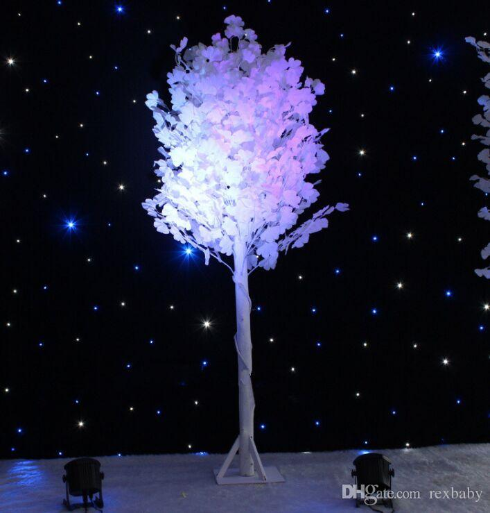 Wedding Props White Ginkgo Road Cited Columns Holiday Wish Tree Party Welcome Area Decoration Supplies 1.2H