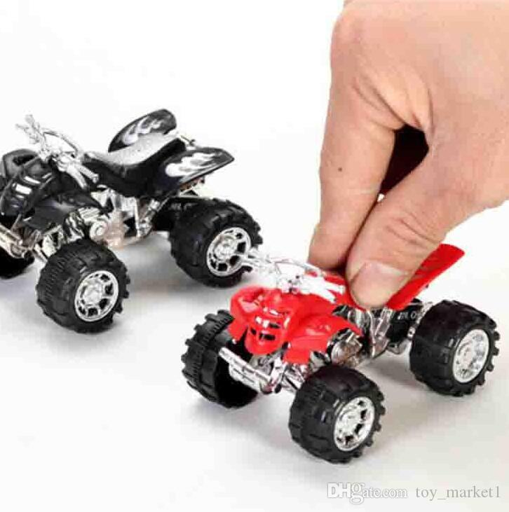 Kids Toy Pull Back Motorcycle Mini New Four-Wheeled Off-Road Motorcycle Stalls Children toys Wholesale