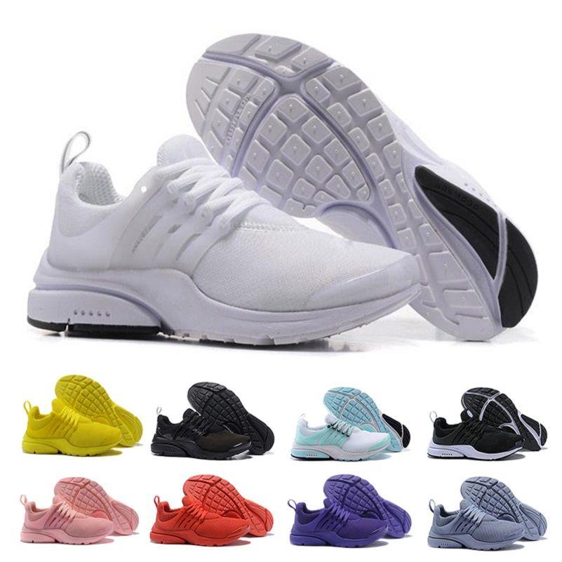 2cf9ddb596f Compre Nike Air Presto Presto Zapatillas De Running Mujer Ultra BR QS  Amarillo Rosado Prestos Negro Aire Blanco Oreo Jogging Para Exteriores Zapatillas  De ...