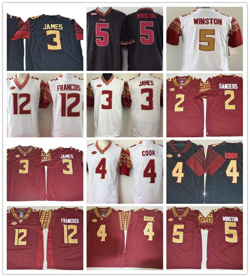 on sale 96103 3e21d Derwin James College Football Jerseys Deion Sanders Cam Akers Jameis  Winston Deondre Francois Florida State Seminoles Jersey Mens NCAA FSU