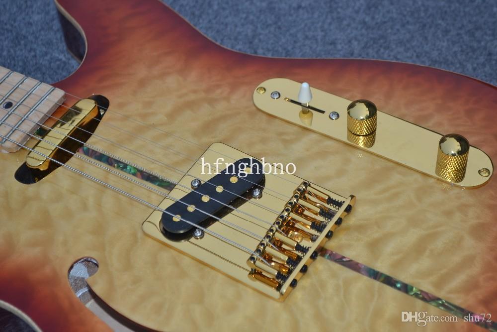 OEM Fábrica Qualidade TL-Alta Qualidade novo costume TL 6 cordas instrumento musical guitarra elétrica 93