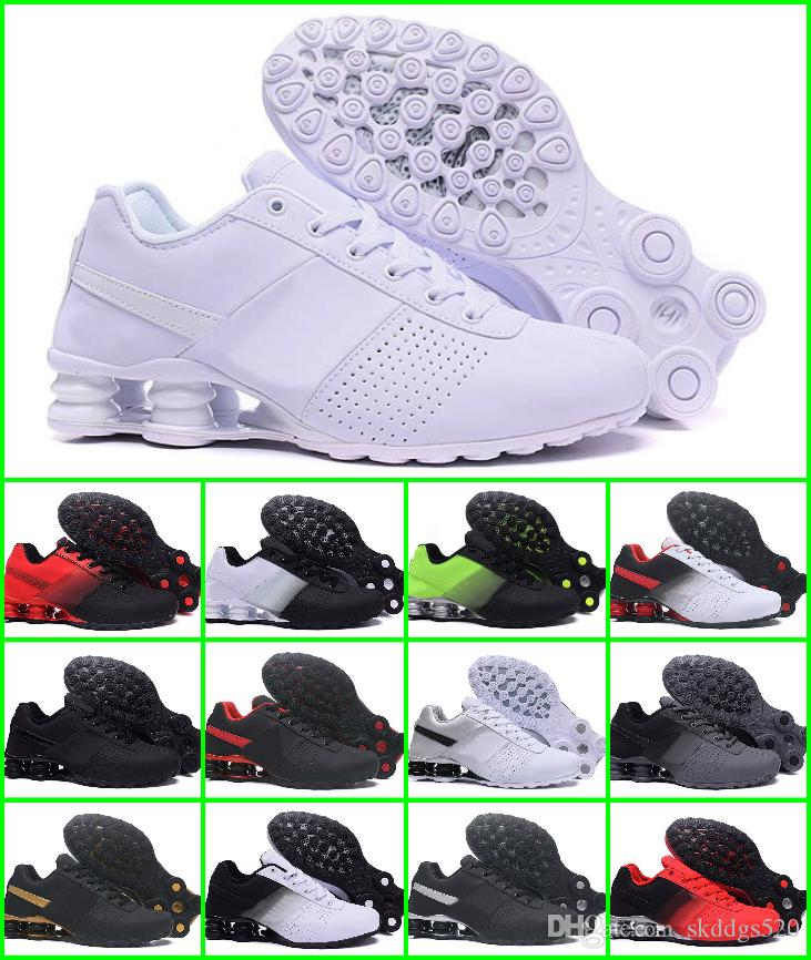 2018 Shox Deliver 809 Men Air Running Shoes Drop Shipping Wholesale Famous  DELIVER OZ NZ Mens Athletic Sneakers Sports Running Shoes US 7 12 Womens  Trail ... bbe0d5692