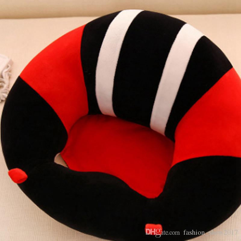 Infant Toddler Baby Support Seat Soft Cotton Travel Car Seat Sofa Chair Pillow Cushion Baby Learning Seats For Baby Training