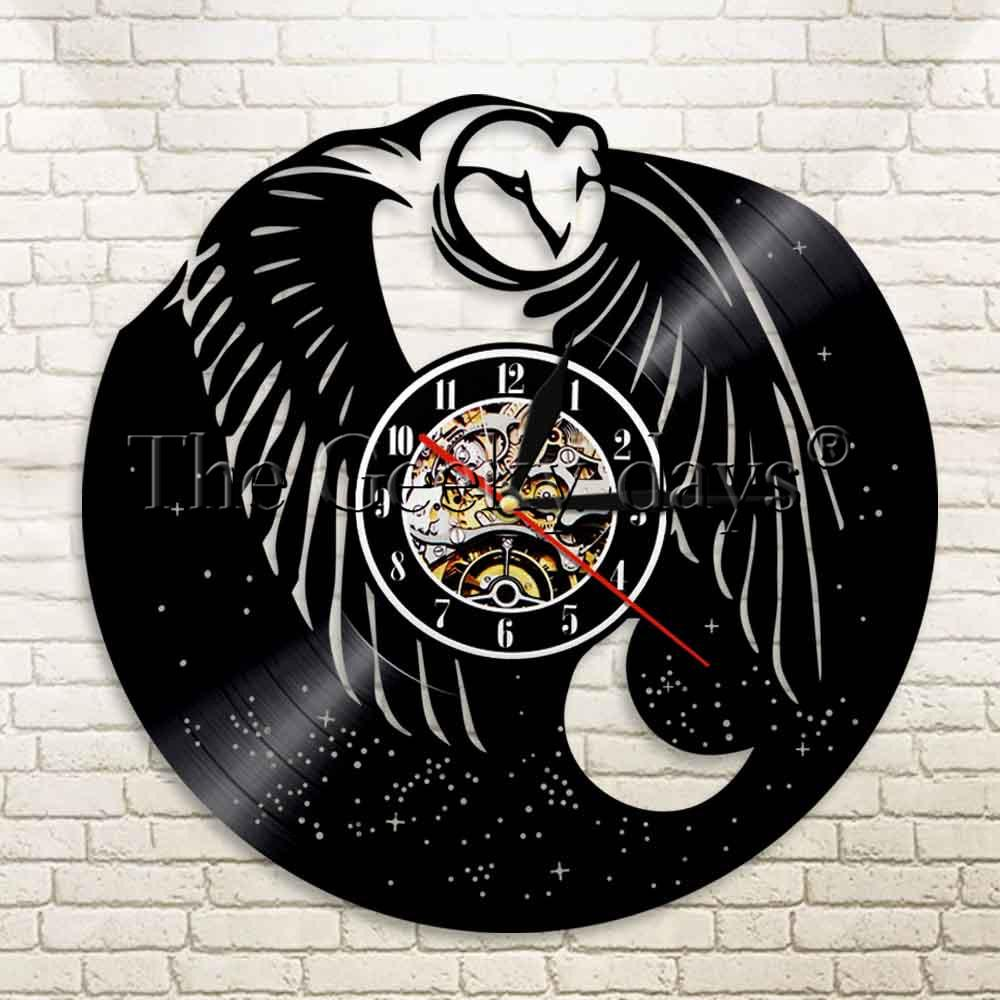 1Piece Original Clock Owl  Clock Nursery Decor Animal Lover Gift Owl  Wall Owlet Personalized 12 Inch